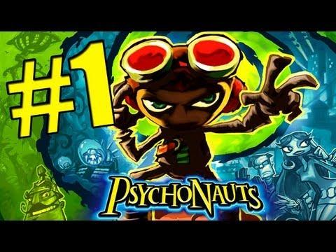 """Psychonauts - Лагерь """"Шепчущий камень"""" - #1"""