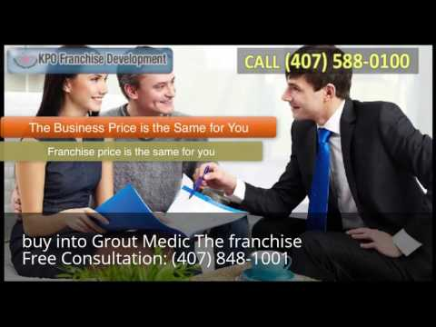 , title : 'buy into Grout Medic The franchise