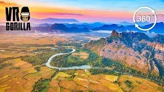 Discover Laos: Luang Prabang & Vang Vieng Guided Tour (360 VR Video)