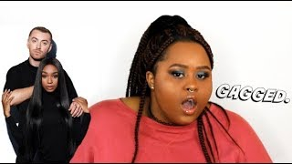 Sam Smith x Normani - Dancing With A Stranger (Reaction)