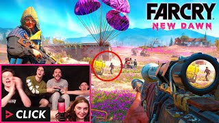 CLICK Plays the New Far Cry! feat. Muselk, Loserfruit, Crayator, BazzaGazza & Marcus