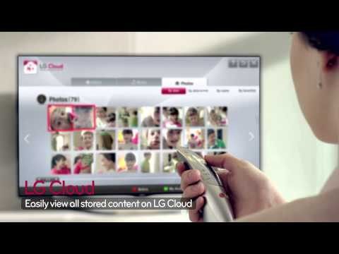 LG CINEMA 3D Smart TV Intro Video