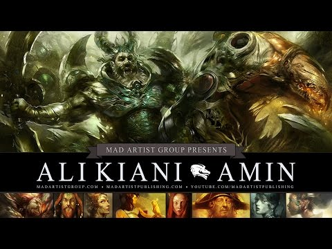 ALI KIANI AMIN Artist Portfolio (HD) Digital Artist & Concept Designer