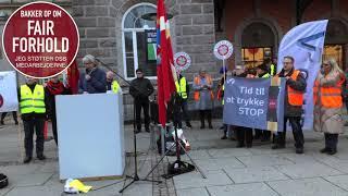 Støtte Aktion - Aalborg Banegård