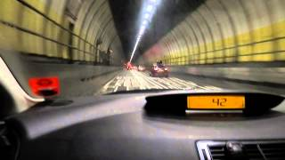 preview picture of video 'Trip through the Dartford Crossing (Kent to Essex) (26th Dec 2012)'