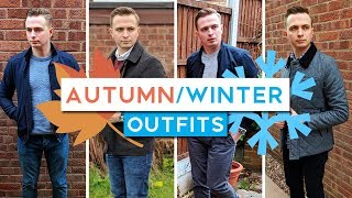 4 Autumn/Winter Outfits For Men 2018 | (EASY & STYLISH)