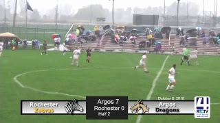 Girls Soccer Sectionals Championship - Rochester vs Argos