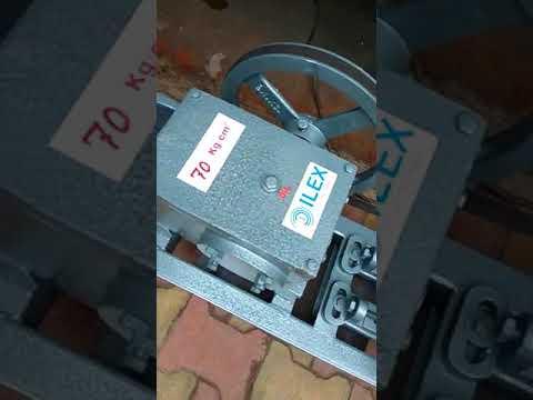 Hydro Testing Pump Single Piston