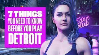 7 Things You Should Know Before You Play Detroit - New Detroit: Become Human Gameplay