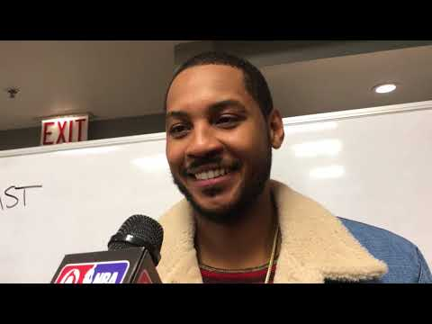 Carmelo Anthony reveals how Russell Westbrook has a triple-double against Thunder too | ESPN