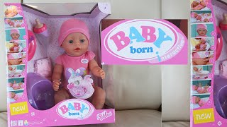 Baby Born Unboxing