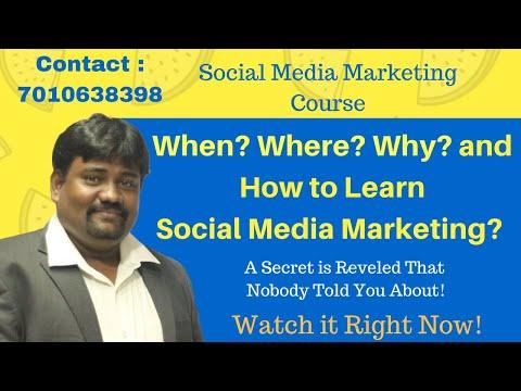Social Media Marketing Course   Social Media Training Course ...