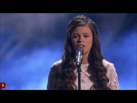Angelina Green, 13 Year Old Singer - Live Show @ America's Got Talent 2017 (видео)
