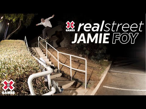 Image for video Jamie Foy: REAL STREET 2020 | World of X Games