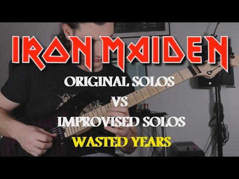 IRON MAIDEN | Original Solos VS Improvised Solos | Wasted Years