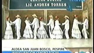 Grupo de Danza Aldea San Juan Bosco Pespire 14 09 2013 Parte 2