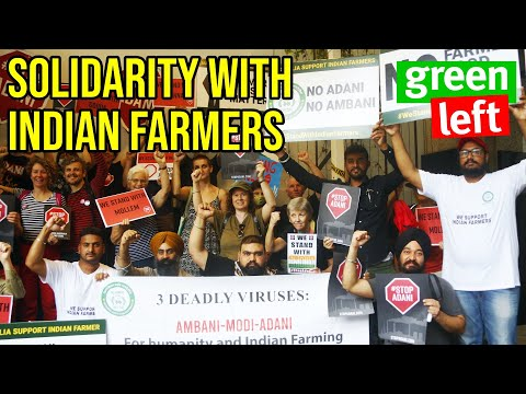 Stop Adani movement's solidarity with Indian Farmers