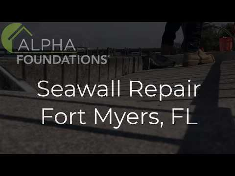Seawall Repair in Fort Myers, FL