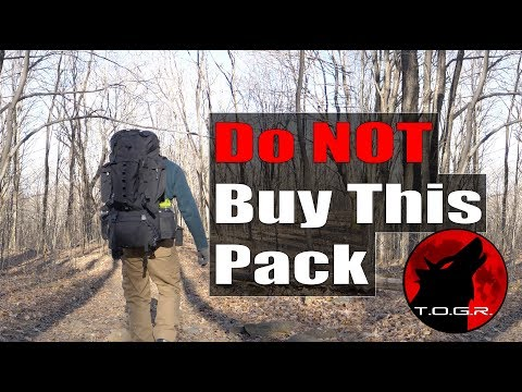 Don't Buy This Backpack – AmazonBasics Hiking Backpack