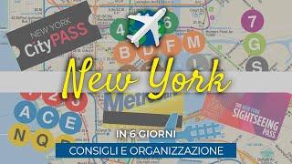 NEW YORK | Organizzazione del viaggio