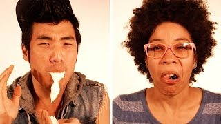 People Eating Foods They Hate In Super Slow Mo thumbnail