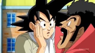 Mr. Satan  - (Dragon Ball) - Goku receives a