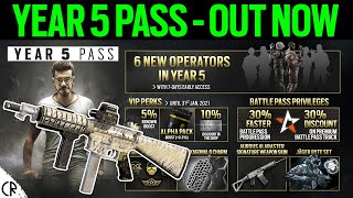 Year 5 Pass Out Now - Weapon Skin, Jager Bundle & More- 6News - Tom Clancy's Rainbow Six Siege