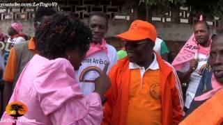 preview picture of video 'Atakpamé : Arrivée des leaders et responsables politique de l'Ogou à la marche ODDH/CAP2015'
