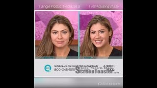 QVC 30 Second Challenge Demo ~ 26 Seconds !  Go-Natural® All-In-One Cosmetic® Multi-Use Magic Powder