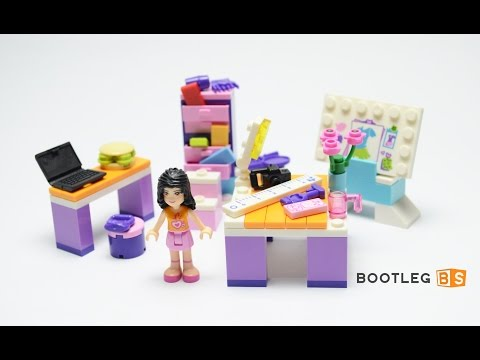 Vidéo LEGO Friends 3936 : Le studio de design d'Emma