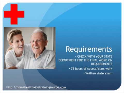 Home Health Aide Certification - YouTube