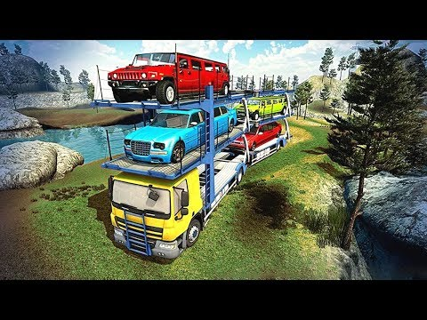 OffRoad Car Transporter Trailer Truck (by Titan Game Productions) Android Gameplay [HD]