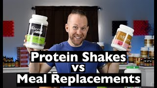 PROTEIN Shakes vs MEAL Replacement Shakes | Which Is BEST?