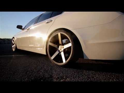 "BMW 528i - on 20"" Niche Milan Wheels 