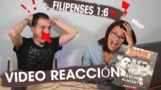 ALMIGHTY feat REDIMI2 - Filipenses 1: 6 - VÍDEO REACCIÓN