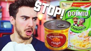 Smettete di imitare il cibo italiano!