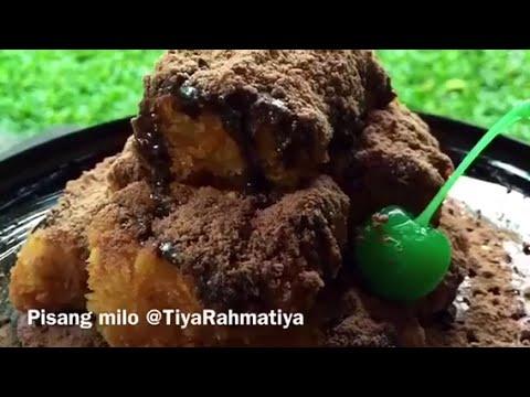 Video Resep Pisang Bakar Milo