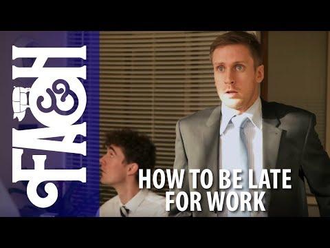 Jak omluvit zpoždění v práci