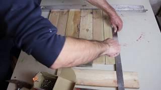 DIY,Selbstgemachter Blumenkasten aus Palettenholz
