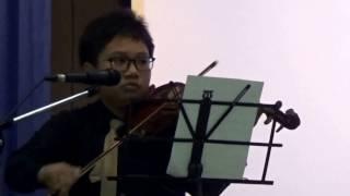 """God Will Make A Way"" Violin Solo By Schubert Chulkasate"