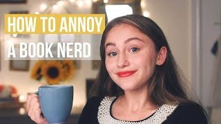 How To Annoy A Booknerd | Mug Minute With Drey