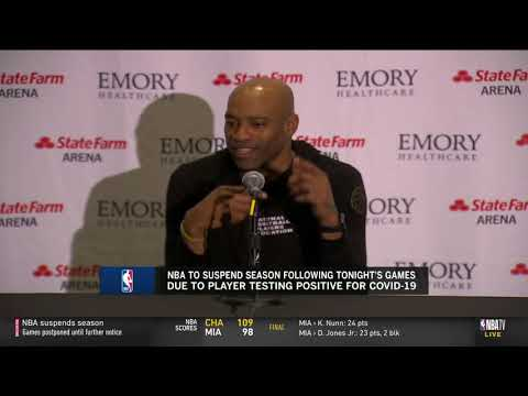 Vince Carter Reflects On What Might Have Been His Final NBA Game