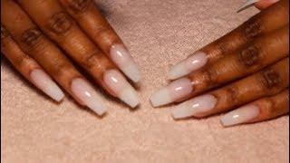 Long Nails At Home Under $10! *NO ACRYLIC! | Beginner Friendly*