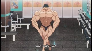 Machio Naruzo  - (How Heavy Are the Dumbbells You Lift?) - Machio shirt ripping compilation. RIP track suit