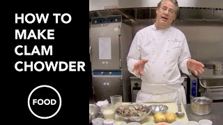 How to Make Clam Chowder by Chef Robert Del Grande