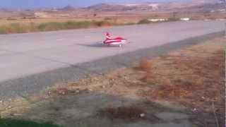 preview picture of video 'Jetlegends F20 Tigershark  RC Jet at Props & Gears airfield by Marios'