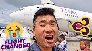 Flight Changed! Thai Airways B777 Business Class Review