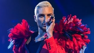 Rylan Clark Sings Hung UpGimme Gimme Gimme Medley   Live Week 5   The X Factor UK 2012