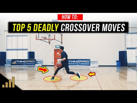 Top 5 DEADLY Basketball Crossover Moves to KILL Your Defenders!
