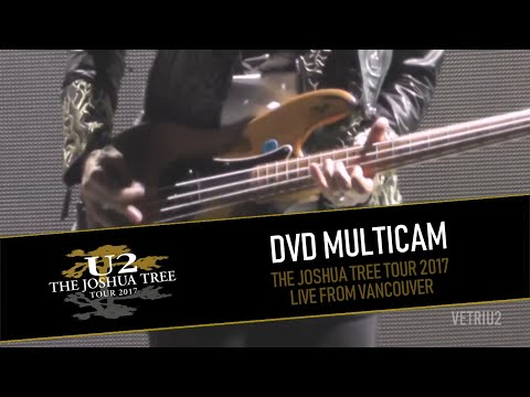 Video DVD U2 THE JOSHUA TREE TOUR 2017 - LIVE FROM VANCOUVER (MULTICAM - HD)